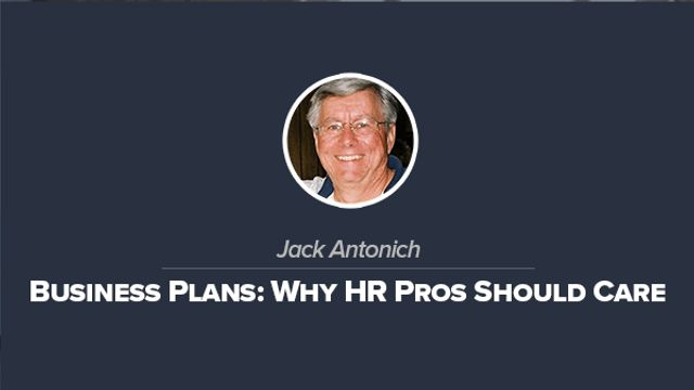 Business Plans: Why HR Pros Should Care
