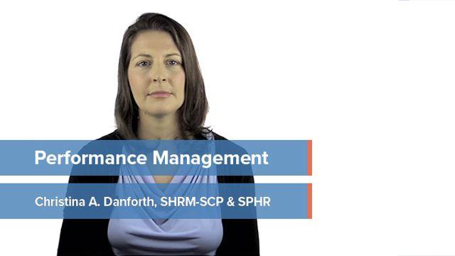 Performance Management: Development & Deployment