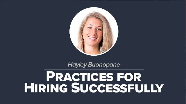 Practices for Hiring Successfully