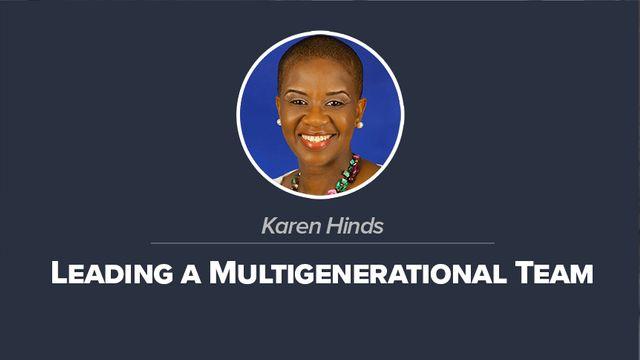 Leading a Multigenerational Team