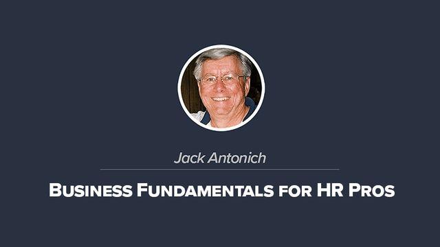 Business Fundamentals for HR Pros