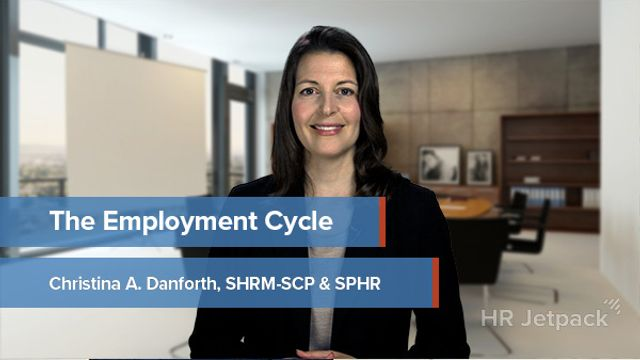 The Employment Cycle