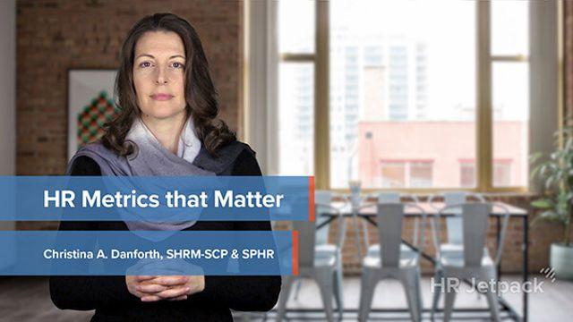 HR Metrics That Matter