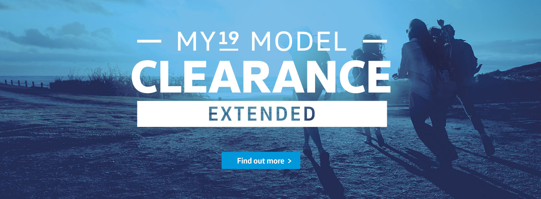 MY19 Model Clearance Passenger