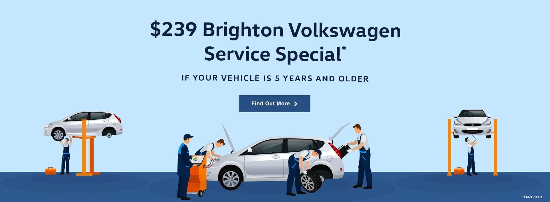 $239 Brighton Volkswagen Service Special