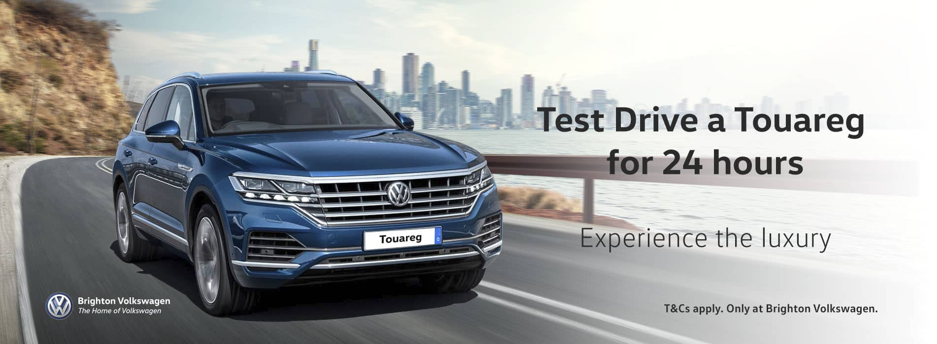 Test Drive a Touareg for 24 hours