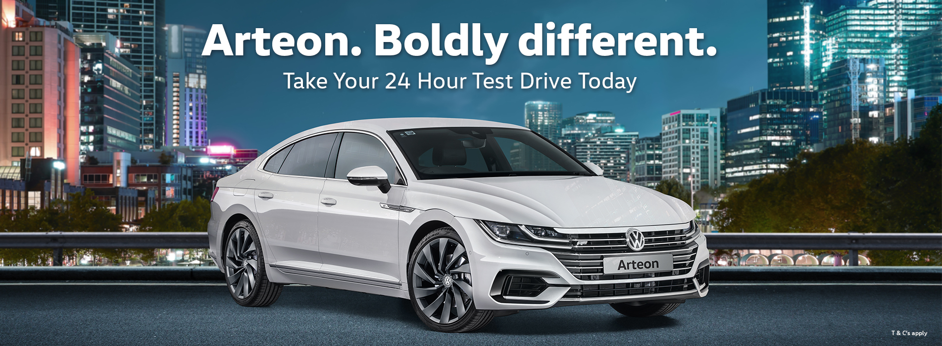 Test Drive an Arteon for 24 hours