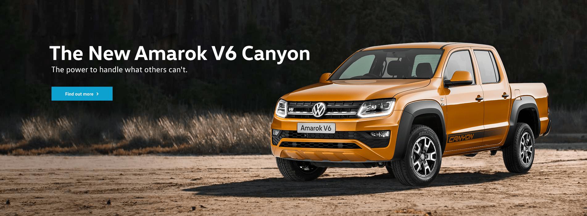 The New Amarok V6 Canyon
