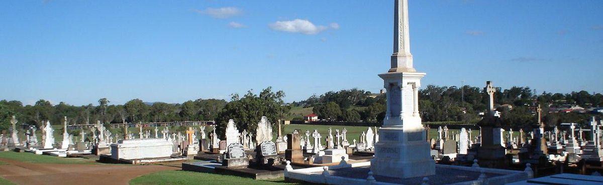 In All Brisbane Cemeteries