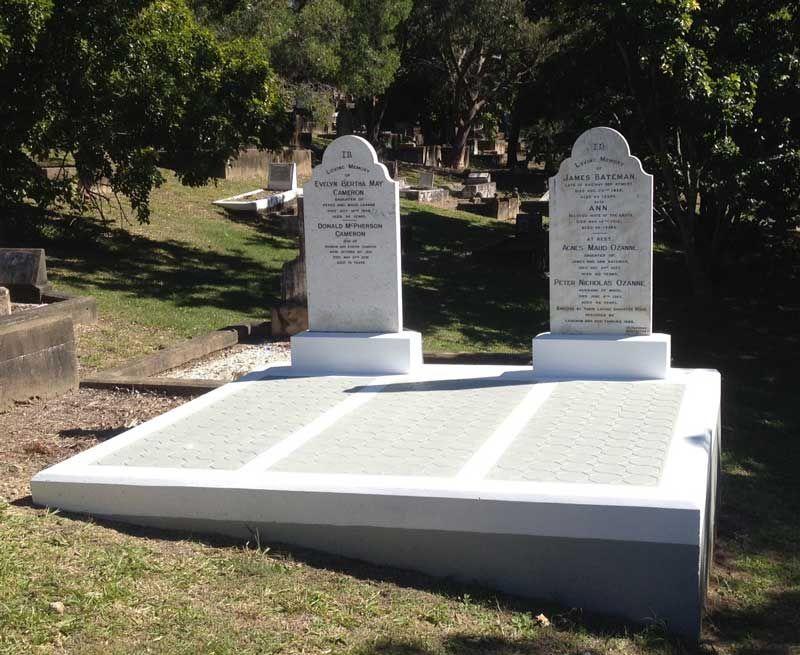 Memorials Restorations