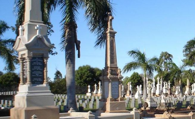 In All Brisbane Cemeteries