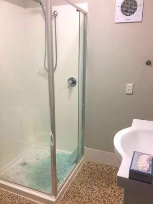 Broken Shower Screen