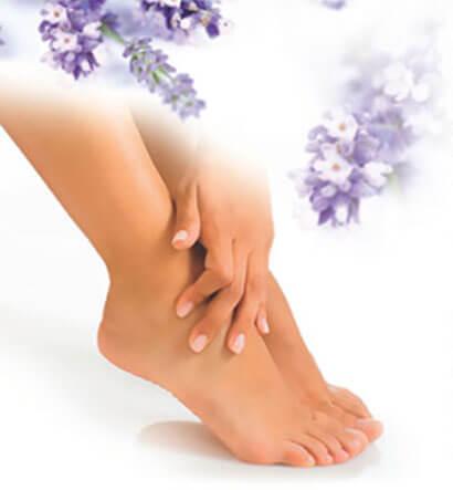 warm wax feet