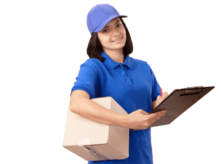 Delivery lady